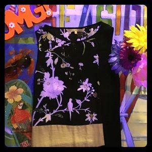 Rachel Roy - Floral Sleeveless Mini Dress